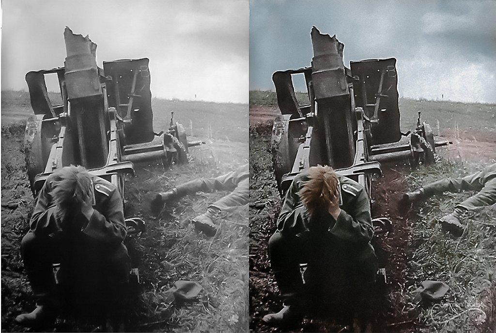 L'horreur de la guerre